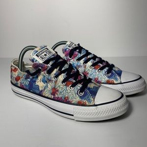 Converse Chuck Taylor All Star Low Floral Design